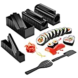 Molde Con Sushi - Sushi Roll Sushi Making Kit Knife 11-PIece Diy Sushi Set Original Sushi Machine
