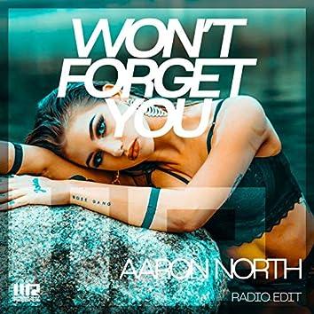 Won't Forget You (Radio Edit)