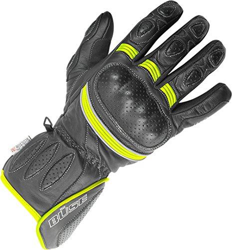 Büse Pit Lane Damen Handschuhe 7 Schwarz/Neon