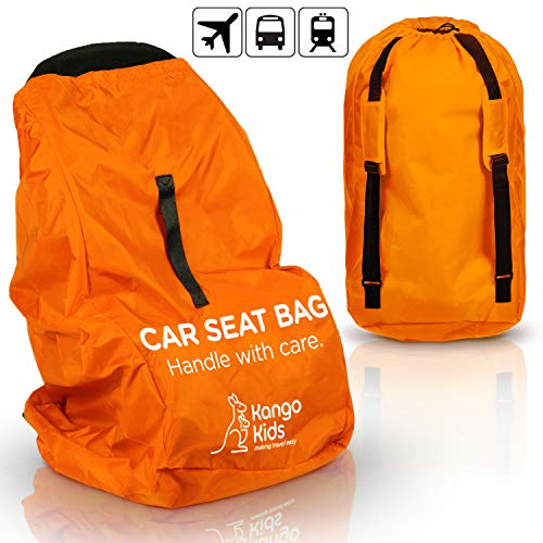 KangoKids Car Seat Travel Bag - Waterproof Carseat, Booster,...