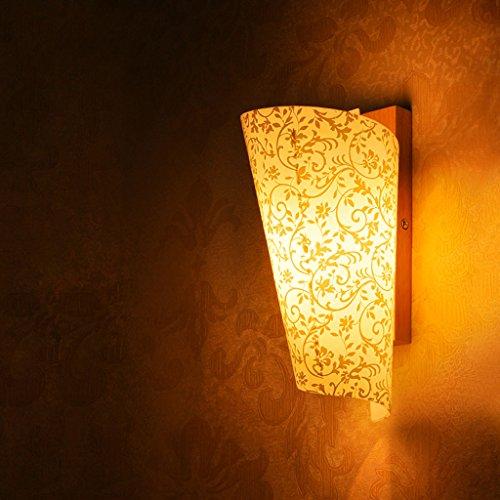 Met Love deurfront wandlamp kamer wandlamp deur hout bedlampje hangende slaapkamer E27
