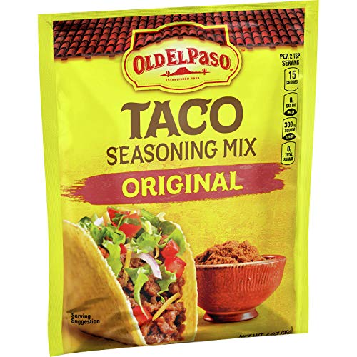 Old El Paso Taco Seasoning Mix Original, 1 oz (Pack of 32)