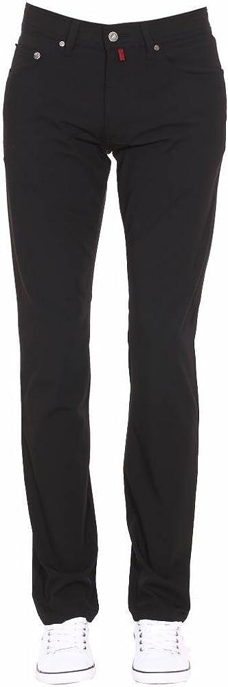 Pierre cardin, pantaloni elasticizzati per uomo, 98% cotone, 2% elastan 599/88/3196