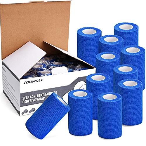 TOBWOLF 12 STK Haftbandage Cohesive Bandage 4