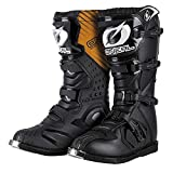 O 'Neal Rider Boot MX 0329-1 - Botas motocross Enduro, color negro