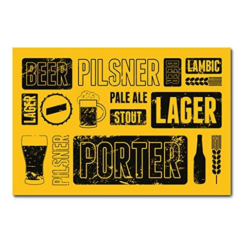 Placa Decorativa - Cerveja - 0578plmk