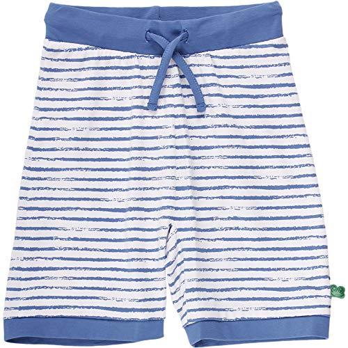 Fred's World by Green Cotton Baby-Jungen Ocean Stripe Pocket Shorts, Blau (Blue 019403901), (Herstellergröße: 98)