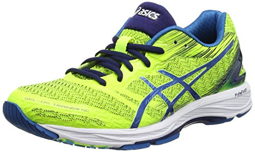 ASICS Gel-DS Trainer 22 NC, Sneakers Uomo, Giallo (Safety Yellow/Thunder Indigo Blue), 44.5 EU