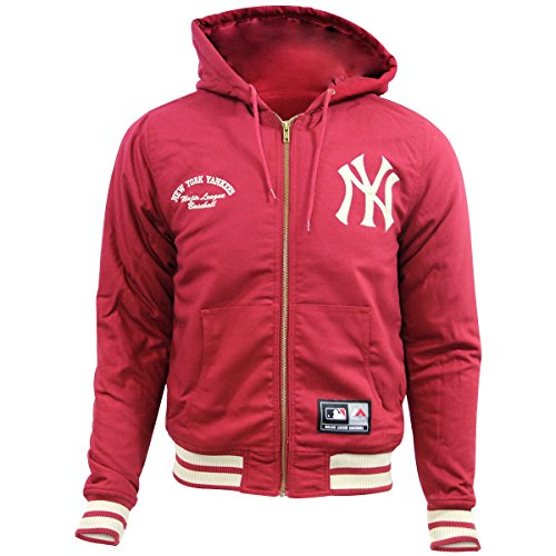 Majestic DEERING NEW YORK YANKEE HOODIE Herren Major League Baseball Jacke Neu