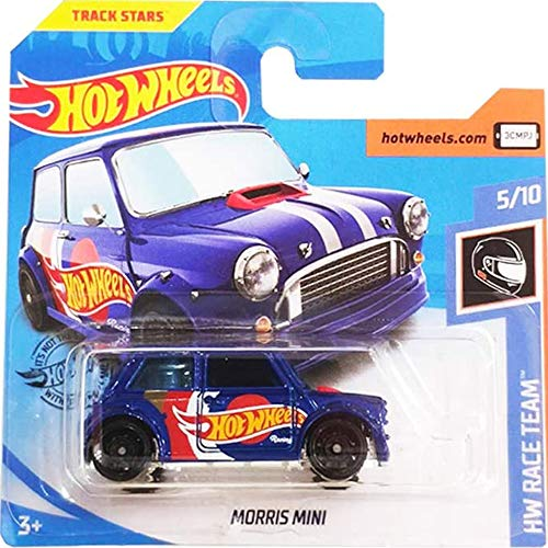 Hot Wheels Morris Mini HW Race Team 5/10 2019 (242/250) Short Card