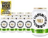 Infinite Session Bière sans alcool (pâle, caisse de 12 canettes)