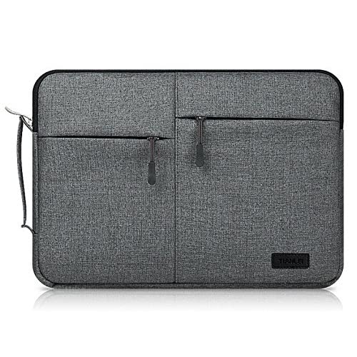 Amazon.com: Black Canvas Busniess Zippered Carrying Sleeve ...