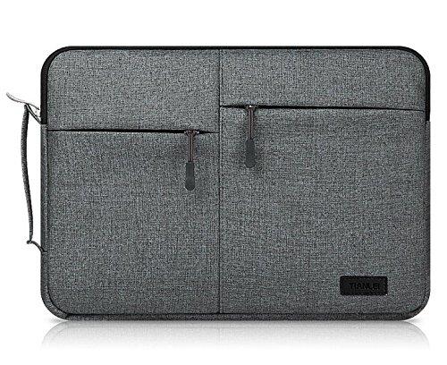 Black Canvas Busniess Zippered Carrying Sleeve Bag Breifcase Cover for Lenovo Flex 3 / Yoga 3 (11 inch) / ThinkPad Yoga 12 / 11e 11.6 / X250 12.5 / Ideapad 100S 11.6-inch/Yoga 900 13.3-inch