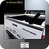 Richard Grant Mouldings Ltd. Embellecedor de maletero original RGM de plástico ABS negro apto para Ford Ranger Pickup Facelift a partir de año de construcción 04.2015 RBP101