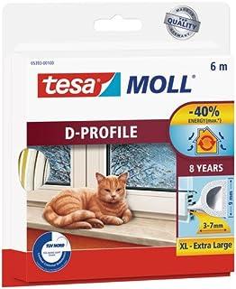 Tesa moll D-Profile, Wit, 6m