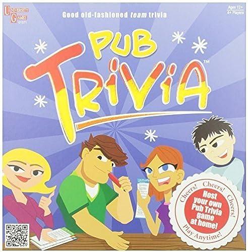 El nuevo outlet de marcas online. Pub Trivia Trivia Trivia Game by University Games  promociones emocionantes