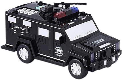 Snow Island Hucha automática con forma de coche, para niños ...