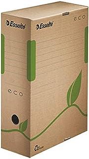 Esselte Eco Lot de 25 Boites archives dos 100 mm Brun