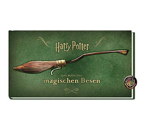 Harry Potter: Das Buch der magischen Besen + Button, Fantasy-Buch für Kinder ab 9 Jahren