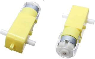ug land india 2 piec 12v dc motor double shaft gear rotated high speed robotic parts multi works, high loaded lifting- Mul...
