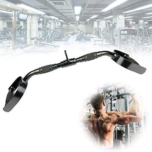 SCXLF Accesorio De Cable para Prensa De Tríceps, Mango para Tracción Máquinas De Lat De Gimnasio con Goma Asas para Gimnasios Profesionales