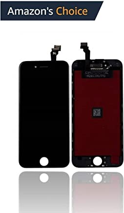 Ecom Hub™ SL Quality LCD Display + Touch Screen Digitizer Assembly Part for Apple iPhone 6 : Black