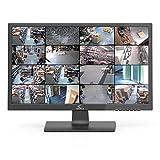 OYN-X 21-hdmibncp 21Pulgadas LED de Seguridad CCTV Monitor/HDMI/BNC/VGA Panel de Seguridad–Negro