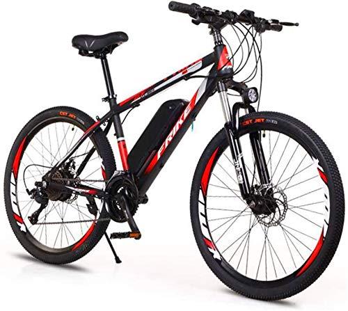RDJM Bici electrica 26 '' Rueda de Bicicleta eléctrica de aleación de...