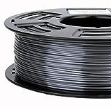 Stronghero3d 1.75mm PLA 3D Printer Filament Metal GREY- 1kg Spool (2.2 lbs) - Dimensional Accuracy +/- 0.03mm