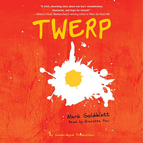Twerp audiobook cover art
