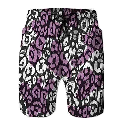 Pantalones Cortos de Playa para niños Bañador de Playa de Secado rápido con Estampado de Animales sin Costuras