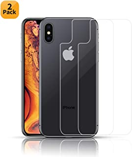 b07bbd7d1b6 HWeggo Protector Pantalla iPhone XS MAX, [2-Pack] [9H Dureza]