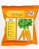 Crispy Natural Getrocknete Karottenchips mit Cajun-Geschmack, ausdrucksvoller Geschmack, Ideale Ballaststoffquelle, (6x15 g), 90 g -