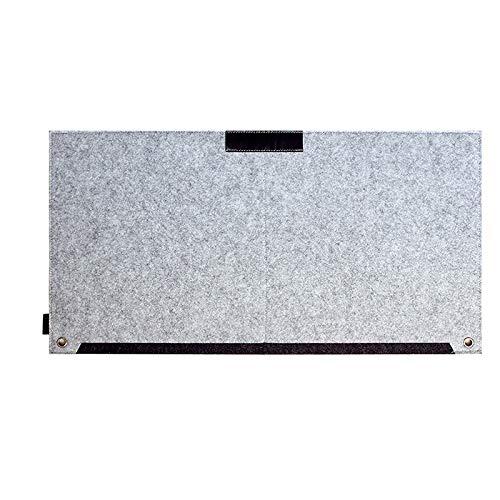 Not application Alfombrilla de ratón grande impermeable cómoda cubierta de mesa para ratón teclado portátil