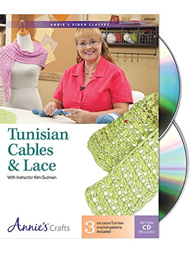 Tunisian Cables & Lace - DVD