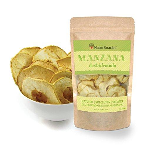 Manzana deshidratada natural (3x28gr)