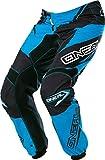 O'NEAL Element MX Hose Racewear Schwarz Blau Motocross Enduro Offroad Quad, 0128-0, Größe 32/48