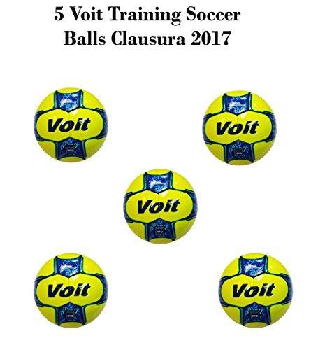 Voit oficial balón de Liga Bancomer MX Clausura 2017paquete de 5