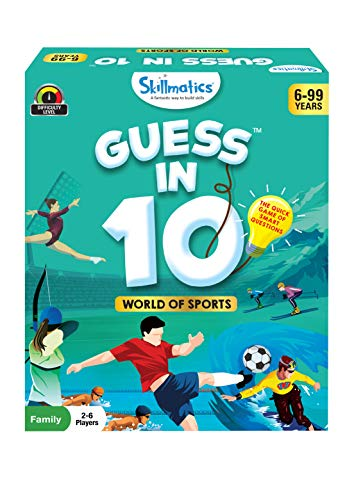 Skillmatics - SKILL36GWS Educational Game : World Of Sports - GUESS IN 10 (Ages 6-99)