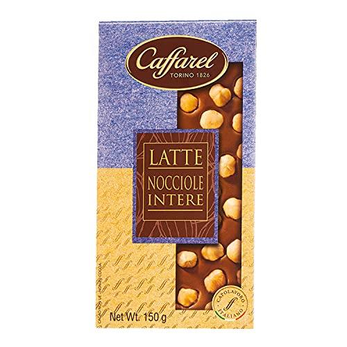 Caffarel Tavoletta Cioccolato al Latte con Nocciole Intere, 150g