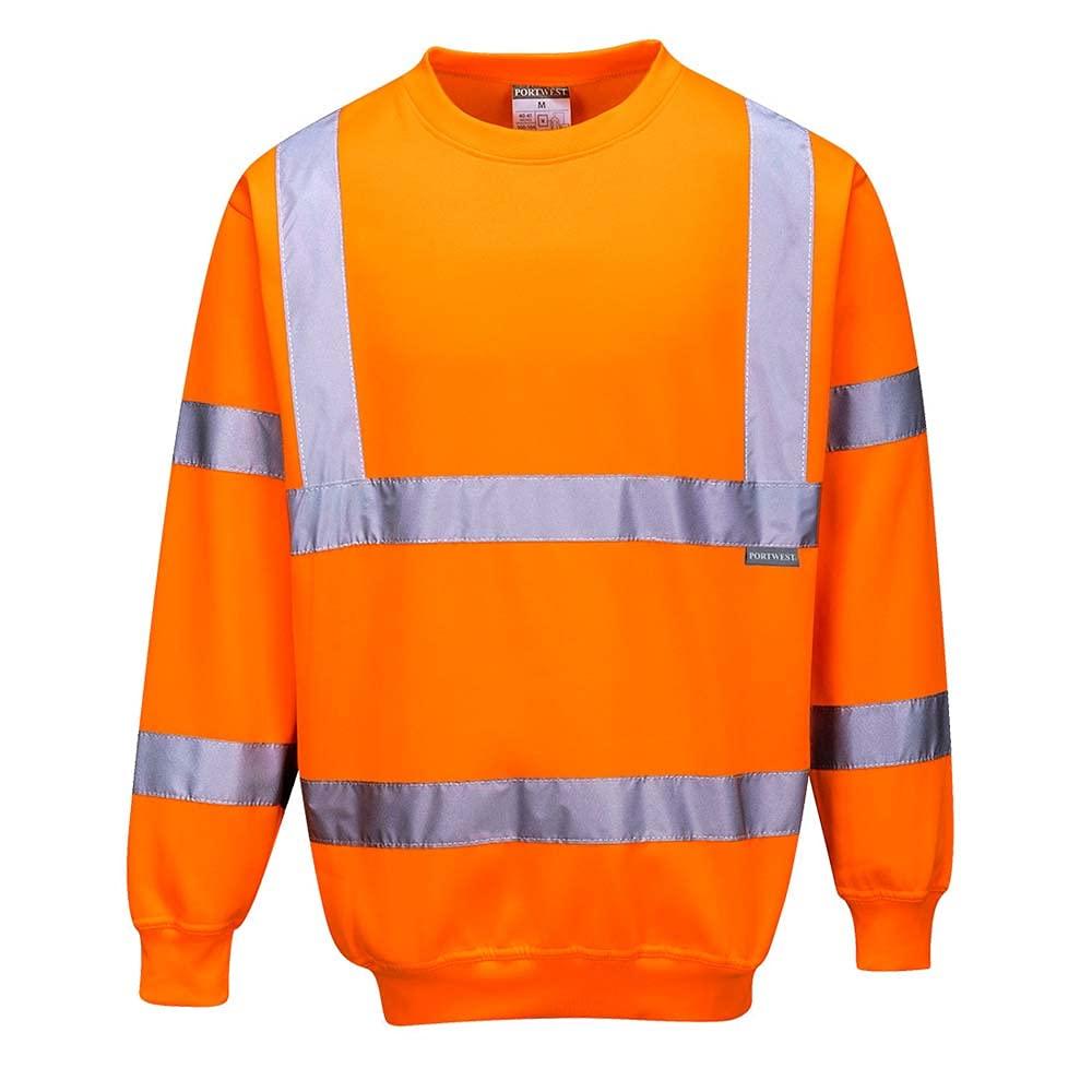Portwest B303ORRXS Hi-Vis Sweatshirt 4228.125 cc Size- Textile low-pricing Popular products