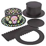 Baker Ross Diseña Tu Propio Gorro Negro (paquete de 3) kit de manualidades y actividades para niños