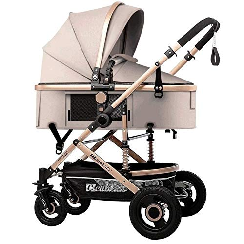 Why Choose LXJ Baby Carriage Stroller,Infant Toddler,High Landscape Stroller,Detachable Handle,Alumi...