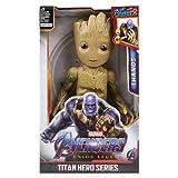 Figuras de acción de superhéroes, Hulk, Iron Man, Thor, Los Vengadores de Marvel, 12/30cm, Modelo de Figura de acción, Juguetes para niños, (Groot with Box)
