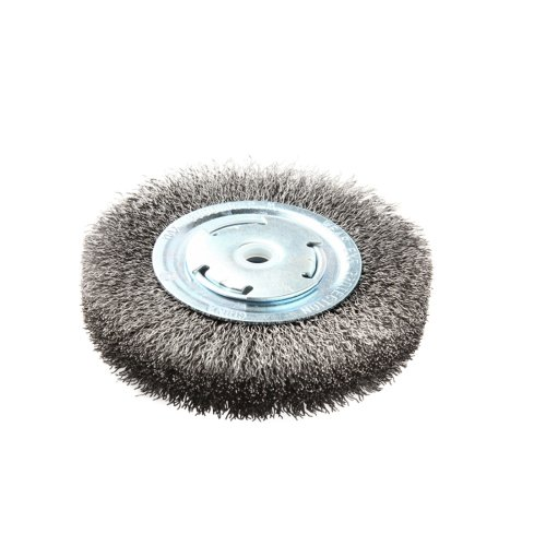Lincoln Electric KH321 Crimped Wire Wheel Brush, 6000 rpm, 6' Diameter x 1' Face Width, 5/8' x 1/2' Arbor (Pack of 1)