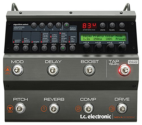 TC ELECTRONIC Nova System Waschtisch auf Analog Overdrive/Distortion mit G-System Effekte und Dynamik Verarbeitung