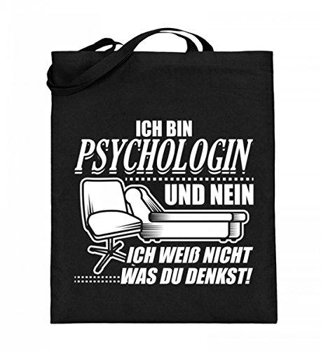Chorchester Hochwertiger Jutebeutel (mit langen Henkeln) - Ideal für jede Psychologin!