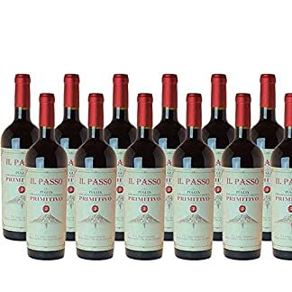 Rotwein-Italien-Primitivo-Il-Passo-Puglia-trocken-12x075L