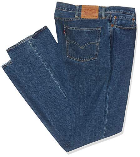 Levi's, Herren Jeans 514 Regular Fit, Blau (Stonewash), Gr. W36/L34