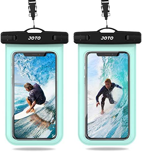 JOTO Universal Waterproof Pouch IPX8 Waterproof Cellphone Dry Bag Underwater Case for iPhone product image